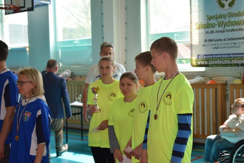 """II Mazowiecki Turniej Boccia """"Nasze Igrzyska Olimpijskie"""" w Lesznie"""