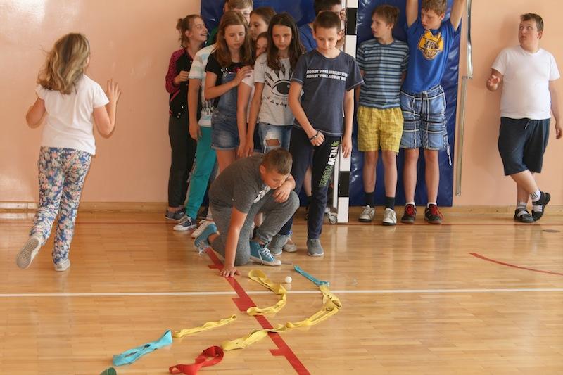 Lekcja otwarta integracyjna w Szkole Podstawowej w Klembowie