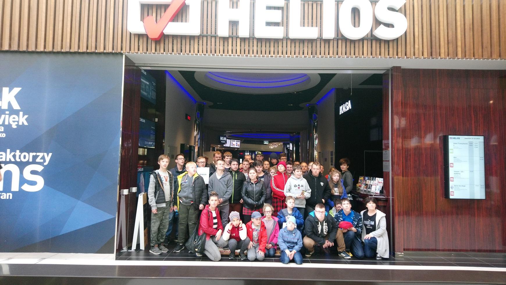 Wycieczka do Kina Helios w Wołominie