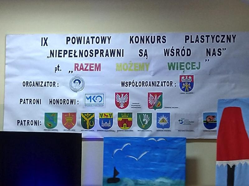 """IX Finał Konkursu Plastycznego """"Niepełnosprawni są wśród nas""""- Razem możemy więcej"""