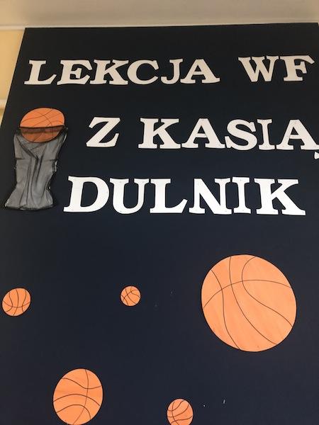 Lekcja WF-u z Kasią Dulnik