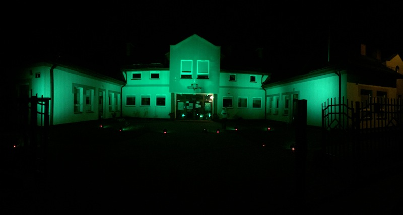 6.10.2020 r.-  Zaświeciliśmy na zielono